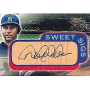 2001 Fleer Showcase Sweet Sigs Lumber #14 Derek Jeter SP/300
