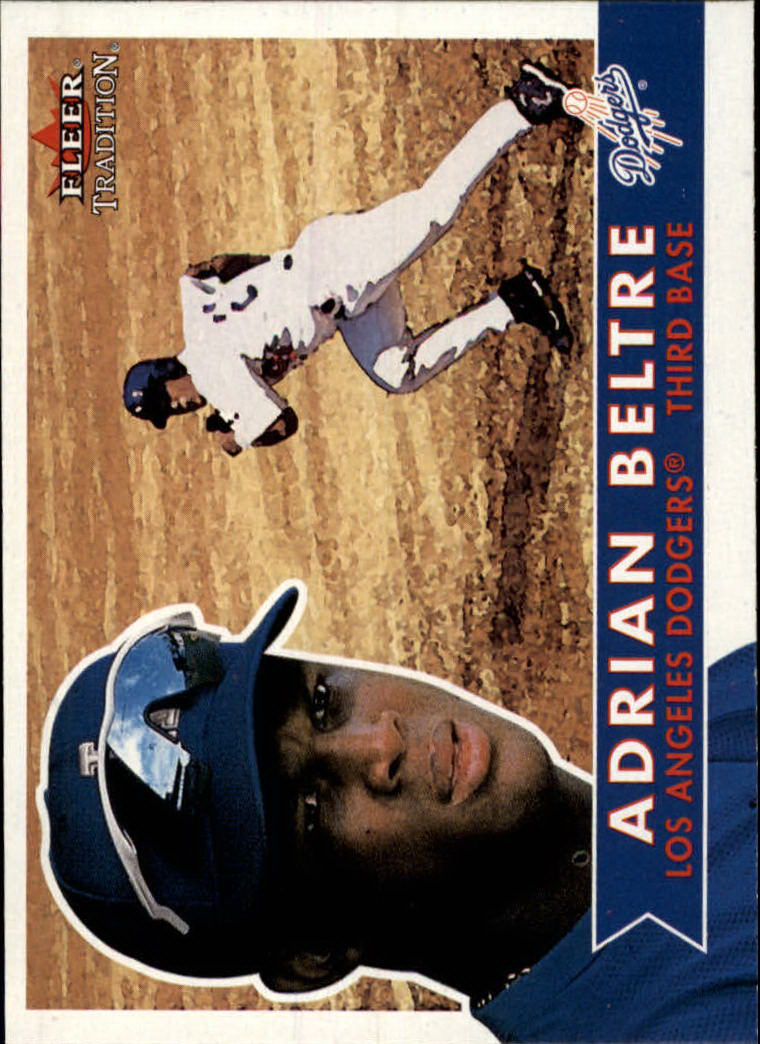 2001 Fleer Tradition #102 Adrian Beltre
