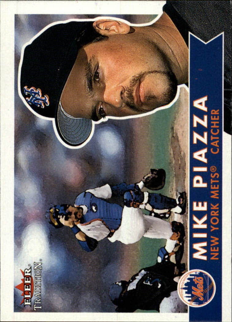 2001 Fleer Tradition #152 Mike Piazza