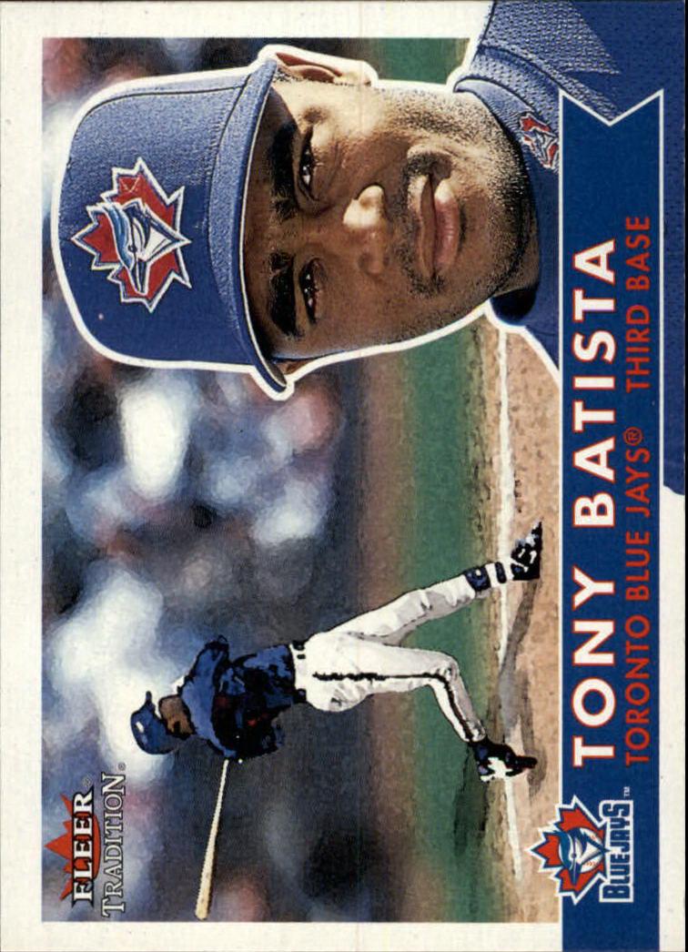 2001 Fleer Tradition #205 Tony Batista