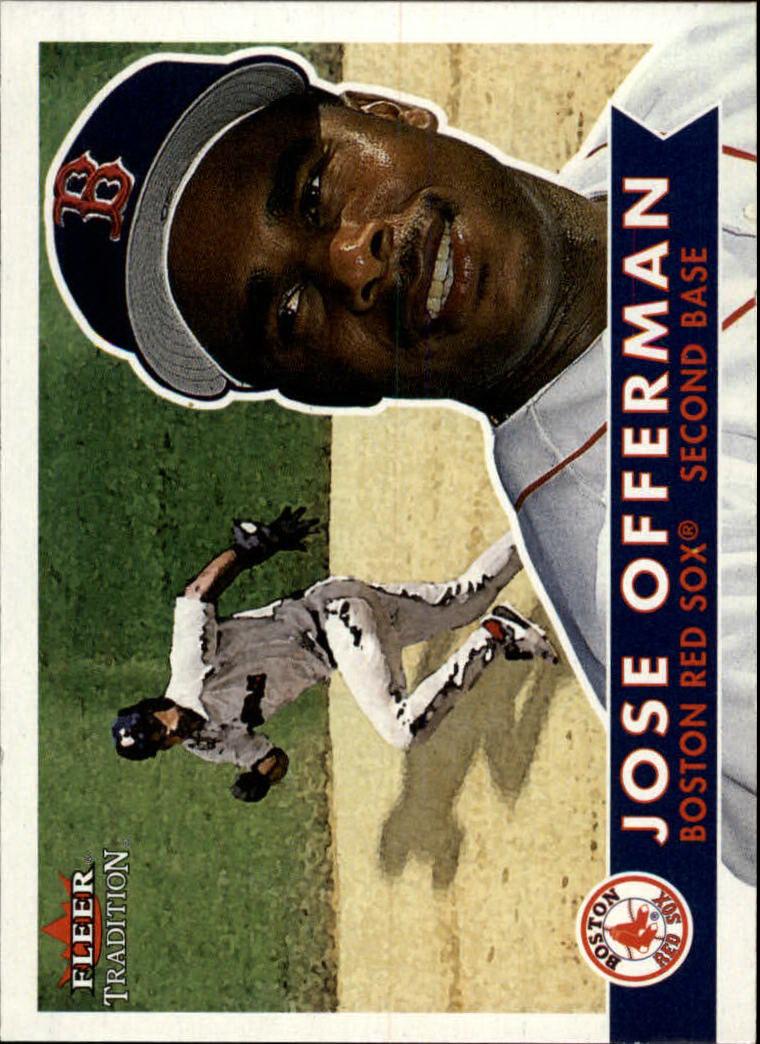 2001 Fleer Tradition #214 Jose Offerman
