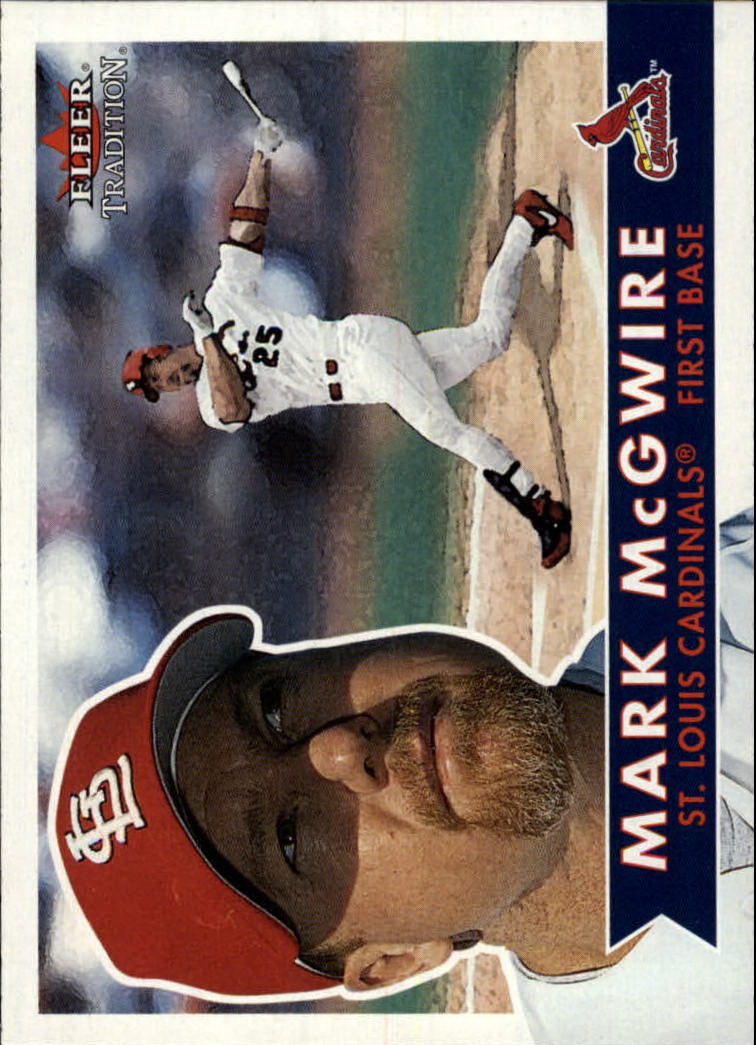 2001 Fleer Tradition #256 Mark McGwire