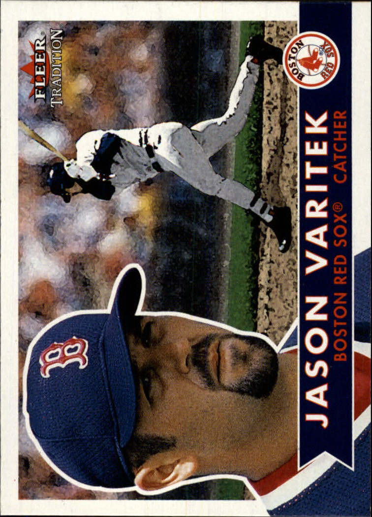 2001 Fleer Tradition #306 Jason Varitek