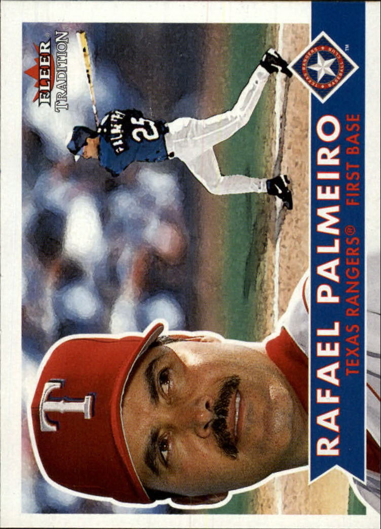 2001 Fleer Tradition #347 Rafael Palmeiro