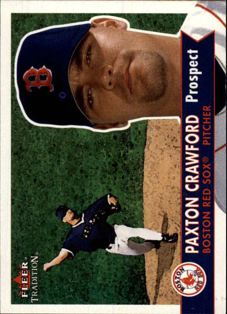 2001 Fleer Tradition #354 Paxton Crawford