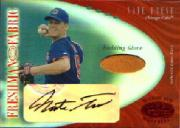 2001 Leaf Certified Materials Mirror Red #114 Nate Frese FF Fld Glv AU