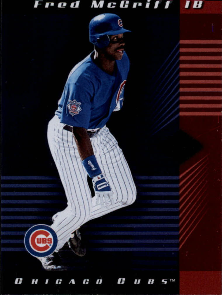 2001 Leaf Limited #17 Fred McGriff