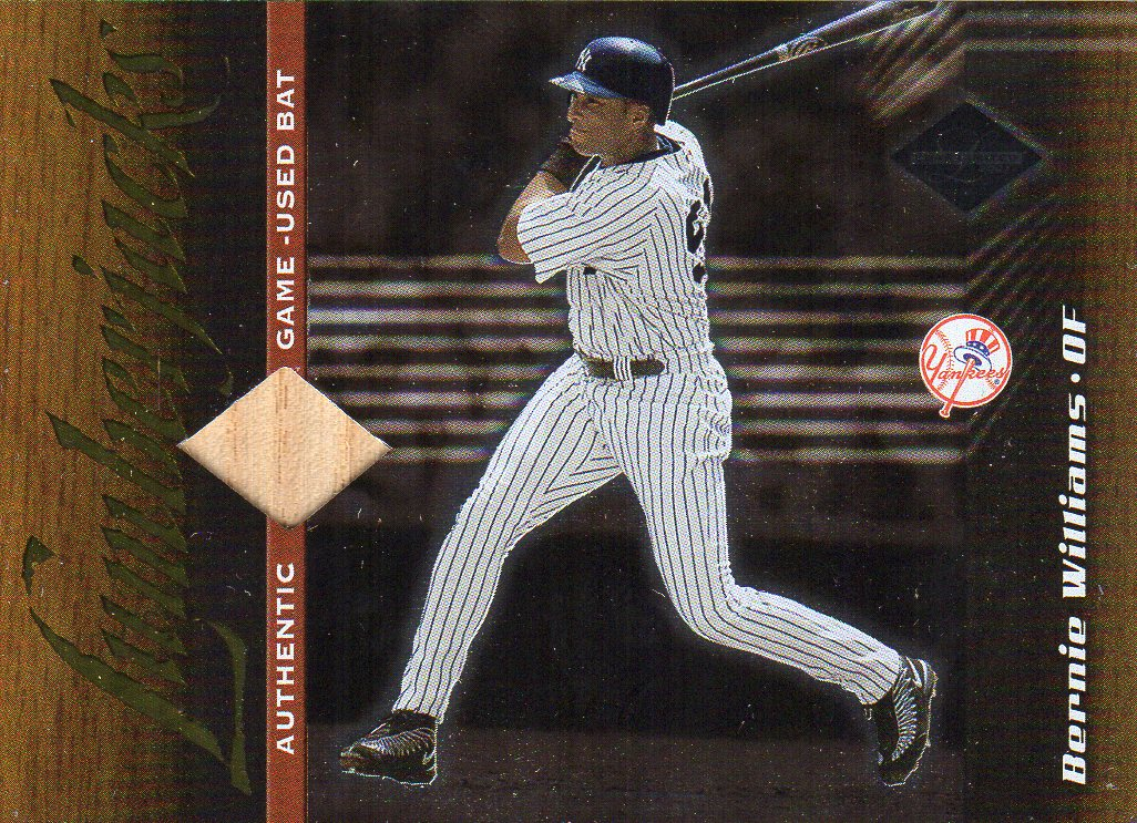 2001 Leaf Limited #153 Bernie Williams LUM/500