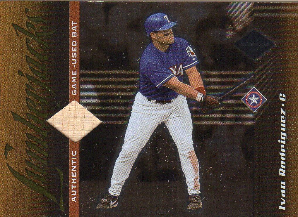 2001 Leaf Limited #174 Ivan Rodriguez LUM/500
