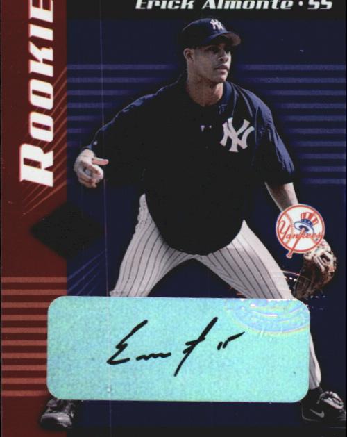 2001 Leaf Limited #319 Erick Almonte AU RC