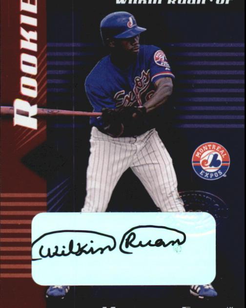 2001 Leaf Limited #321 Wilkin Ruan AU RC