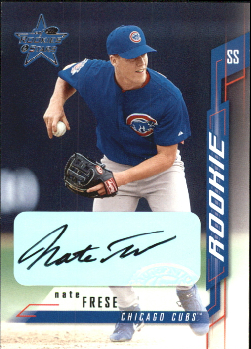 2001 Leaf Rookies and Stars Autographs #125 Nate Frese/250 *