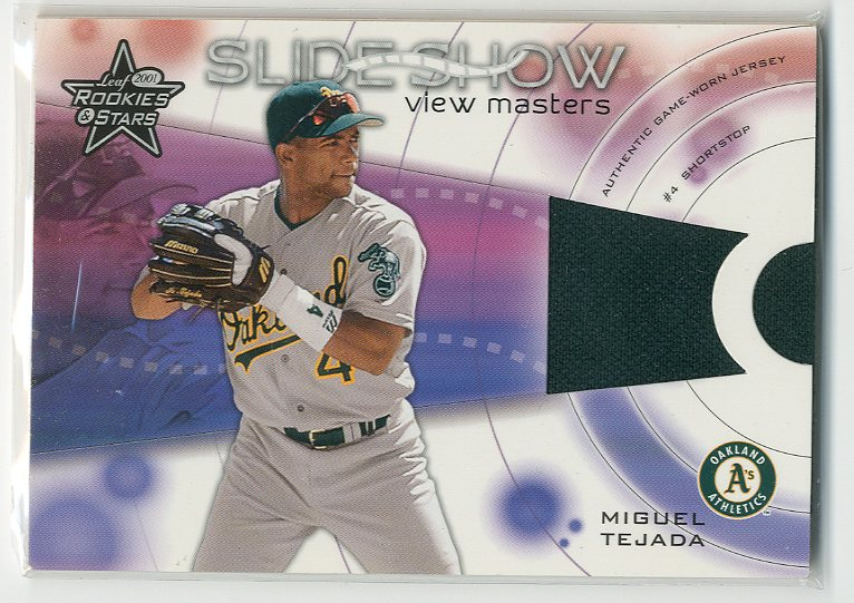 2001 Leaf Rookies and Stars Slideshow View Master #S30 Miguel Tejada