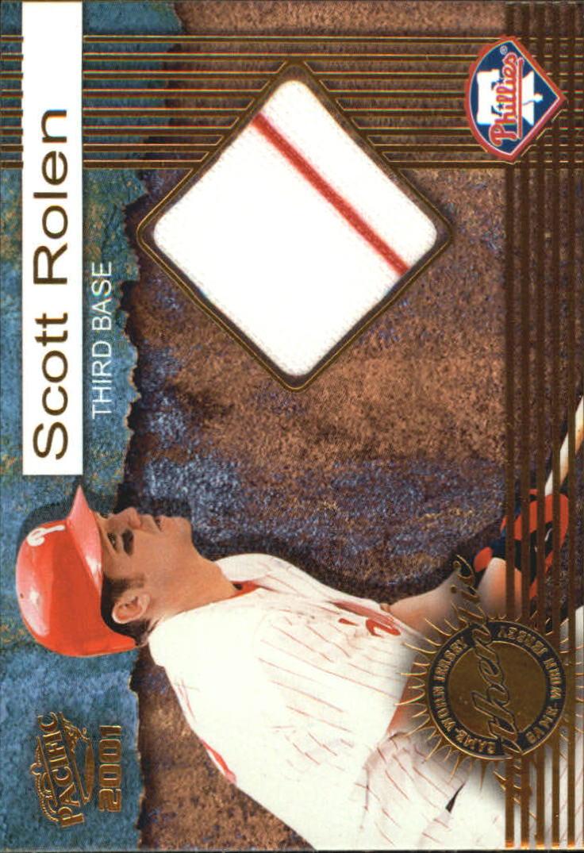 2001 Pacific Game Jersey #5 Scott Rolen