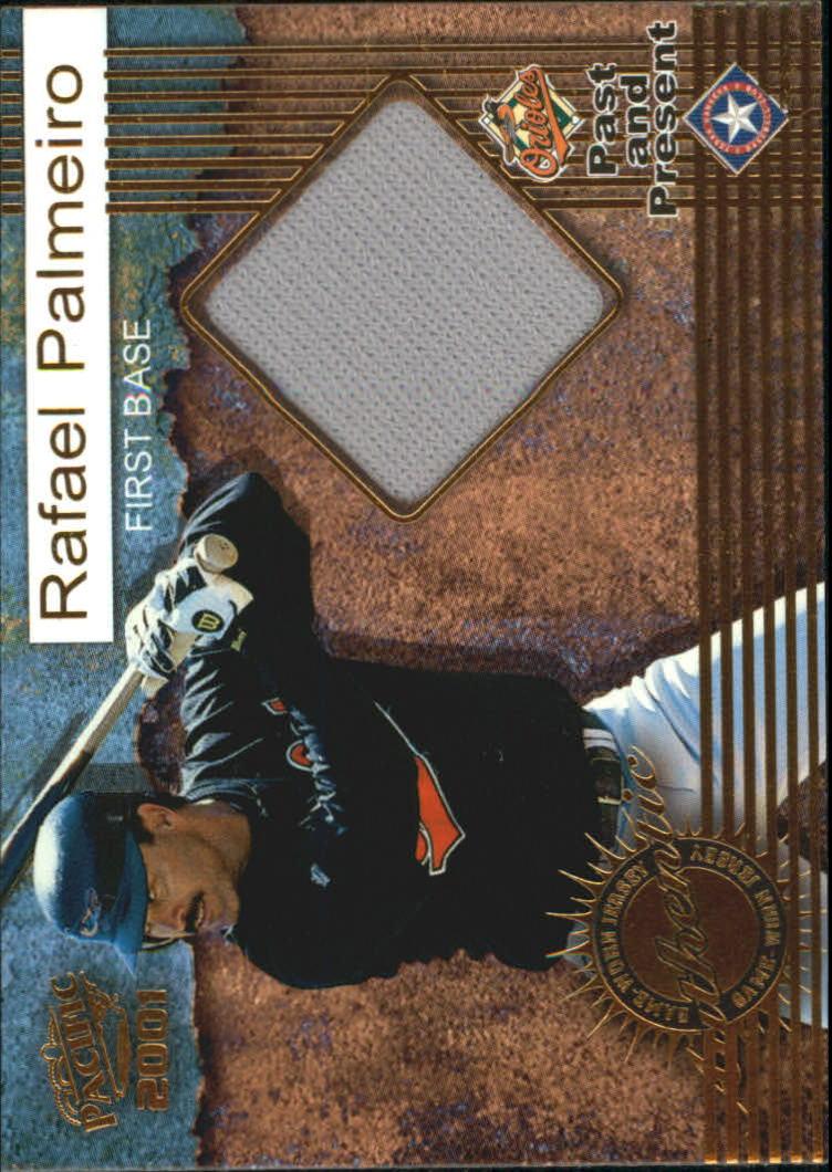 2001 Pacific Game Jersey #9 Rafael Palmeiro