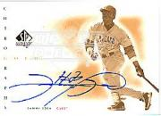 2001 SP Authentic Chirography Gold #GSS Sammy Sosa/21