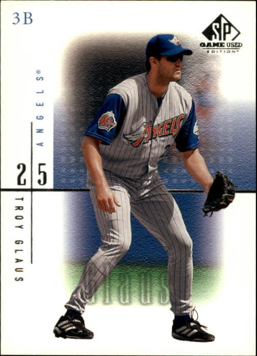 2001 SP Game Used Edition #2 Troy Glaus