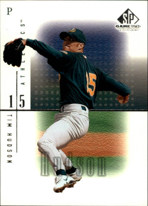 2001 SP Game Used Edition #5 Tim Hudson