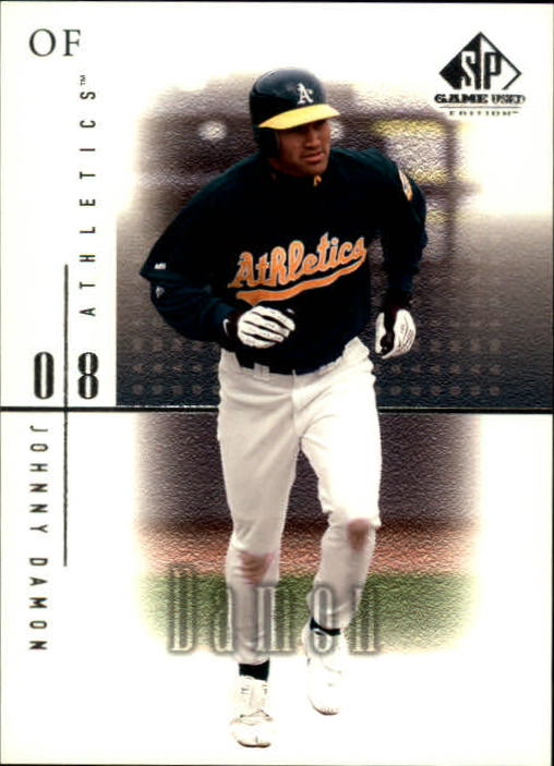 2001 SP Game Used Edition #6 Johnny Damon
