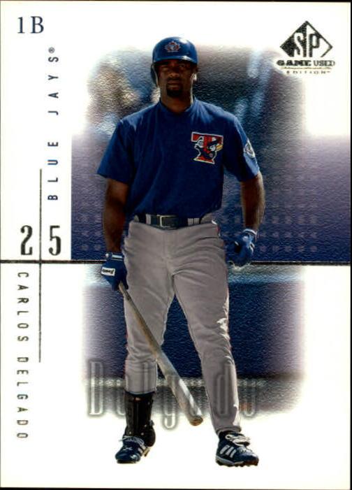 2001 SP Game Used Edition #7 Carlos Delgado