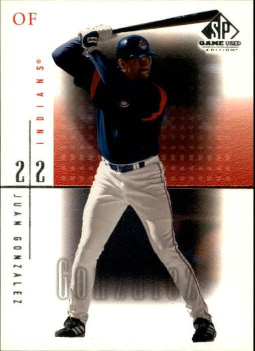 2001 SP Game Used Edition #9 Juan Gonzalez