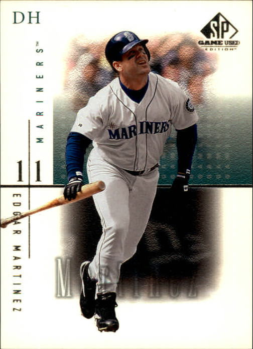 2001 SP Game Used Edition #12 Edgar Martinez