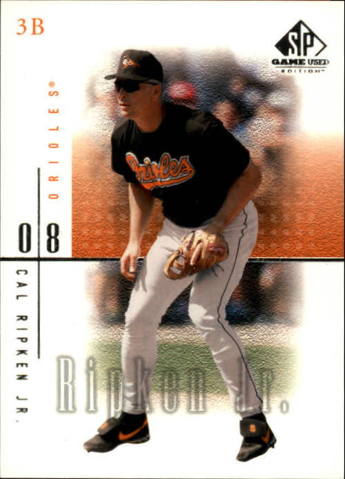 2001 SP Game Used Edition #13 Cal Ripken