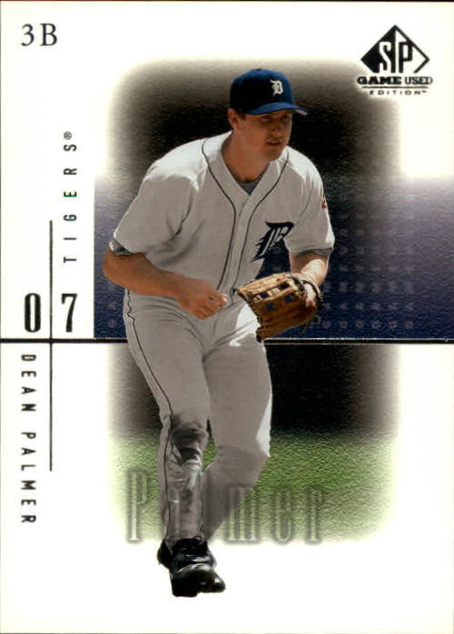 2001 SP Game Used Edition #22 Dean Palmer