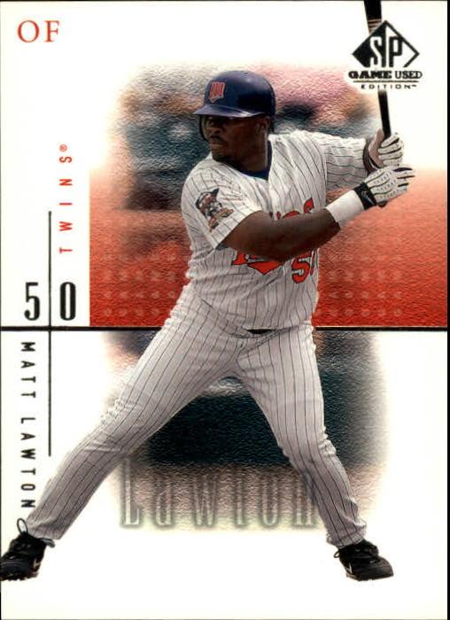 2001 SP Game Used Edition #23 Matt Lawton