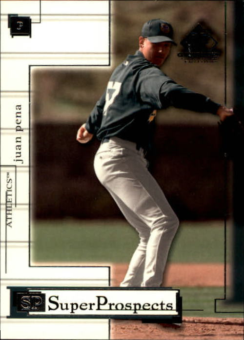 2001 SP Game Used Edition #84 Juan Pena
