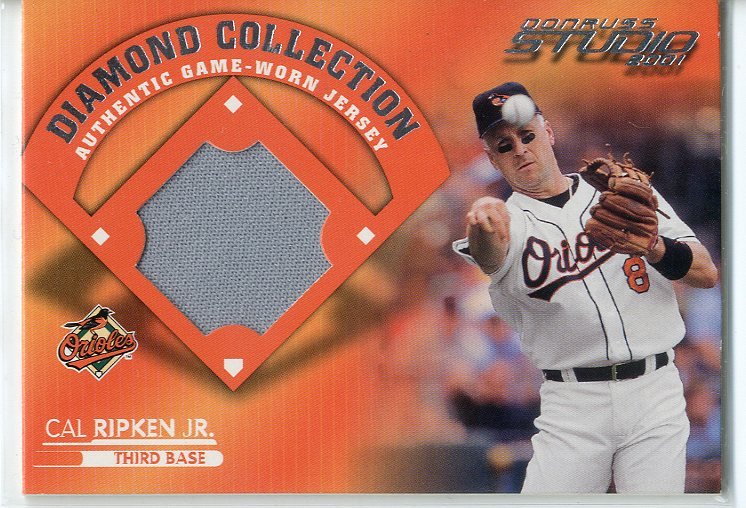 2001 Studio Diamond Collection #DC3 Cal Ripken