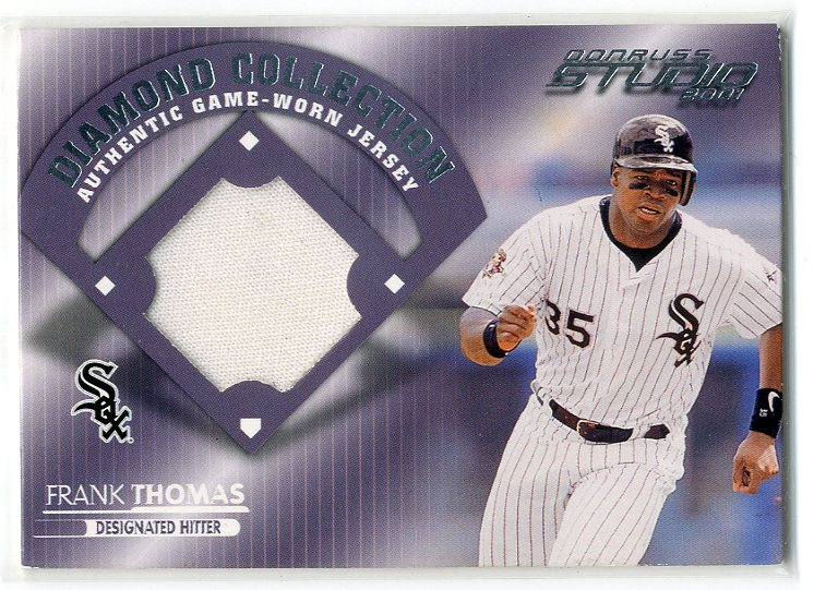 2001 Studio Diamond Collection #DC6 Frank Thomas