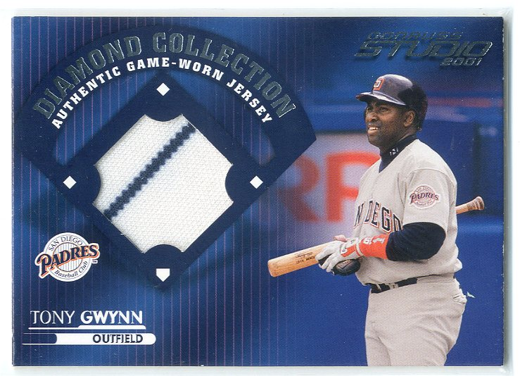 2001 Studio Diamond Collection #DC9 Tony Gwynn