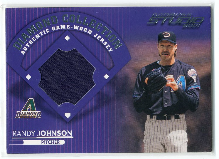 2001 Studio Diamond Collection #DC12 Randy Johnson