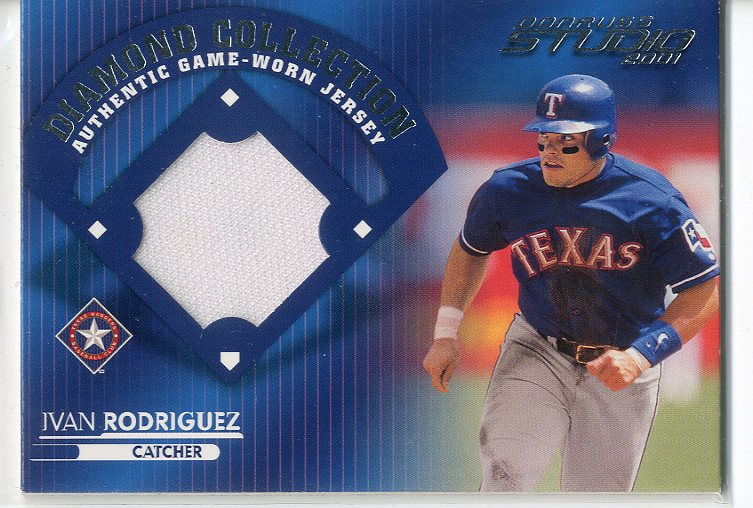 2001 Studio Diamond Collection #DC20 Ivan Rodriguez
