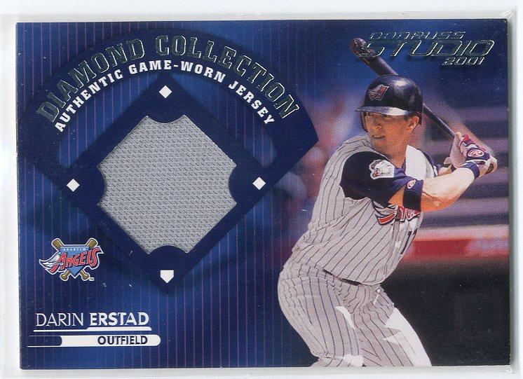 2001 Studio Diamond Collection #DC21 Darin Erstad