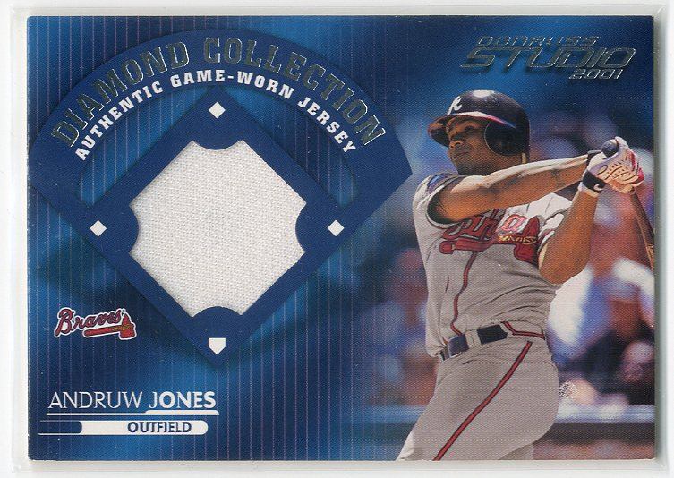 2001 Studio Diamond Collection #DC22 Andruw Jones