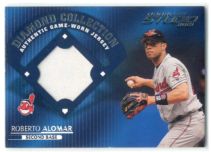 2001 Studio Diamond Collection #DC23 Roberto Alomar