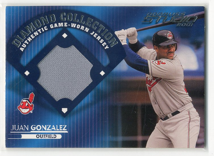2001 Studio Diamond Collection #DC25 Juan Gonzalez