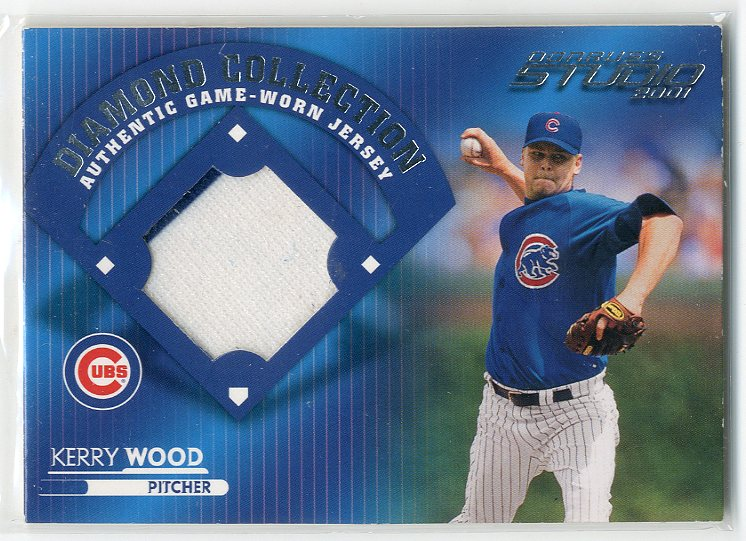 2001 Studio Diamond Collection #DC31 Kerry Wood