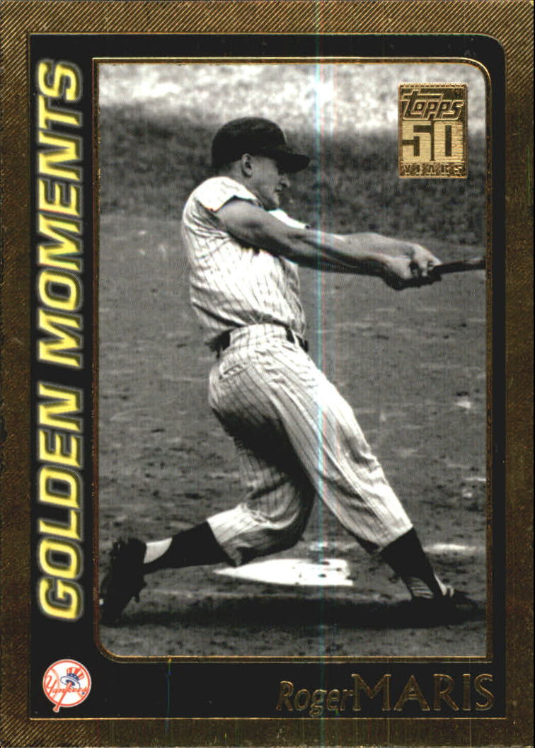 2001 Topps Gold #383 Roger Maris GM
