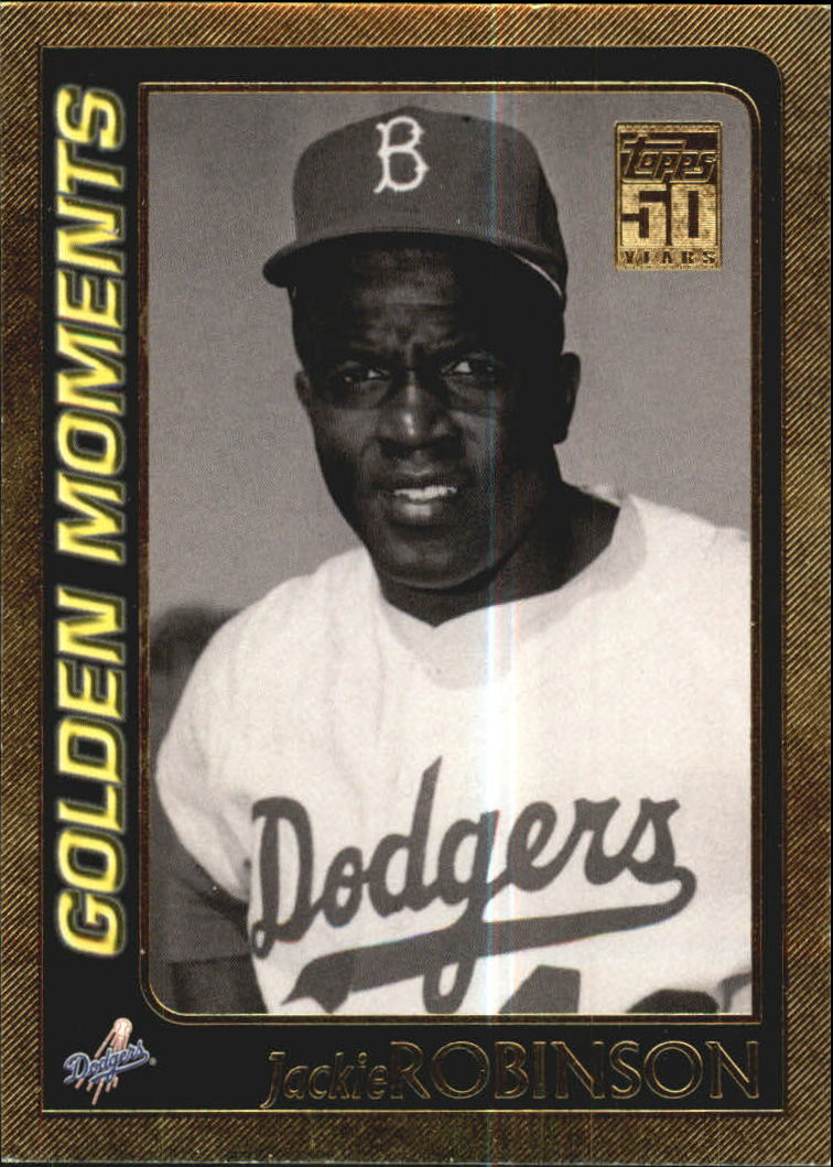 2001 Topps Gold #783 Jackie Robinson GM