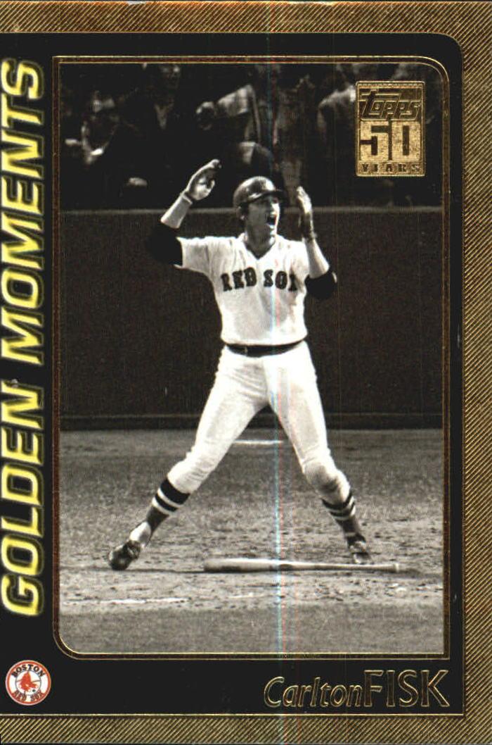 2001 Topps Gold #791 Carlton Fisk GM