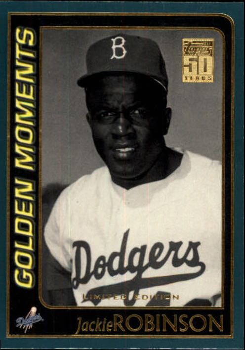 2001 Topps Limited #783 Jackie Robinson GM
