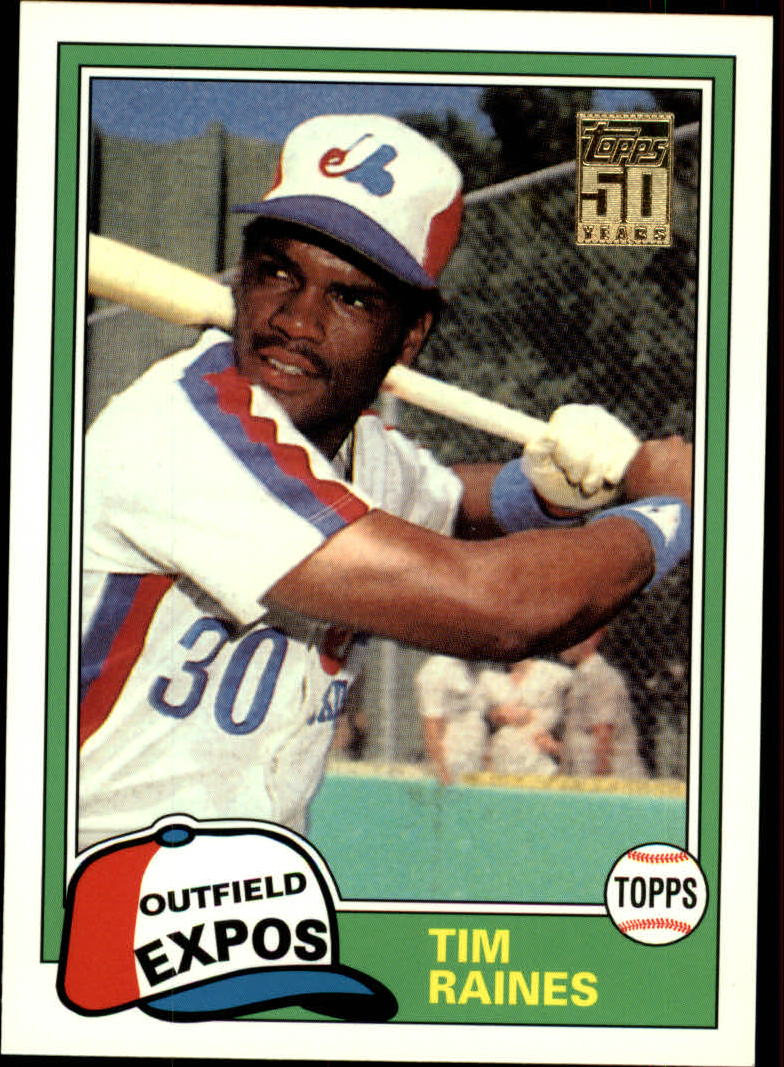2001 Topps Traded #T101 Tim Raines 81