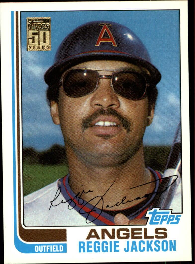 2001 Topps Traded #T104 Reggie Jackson 82