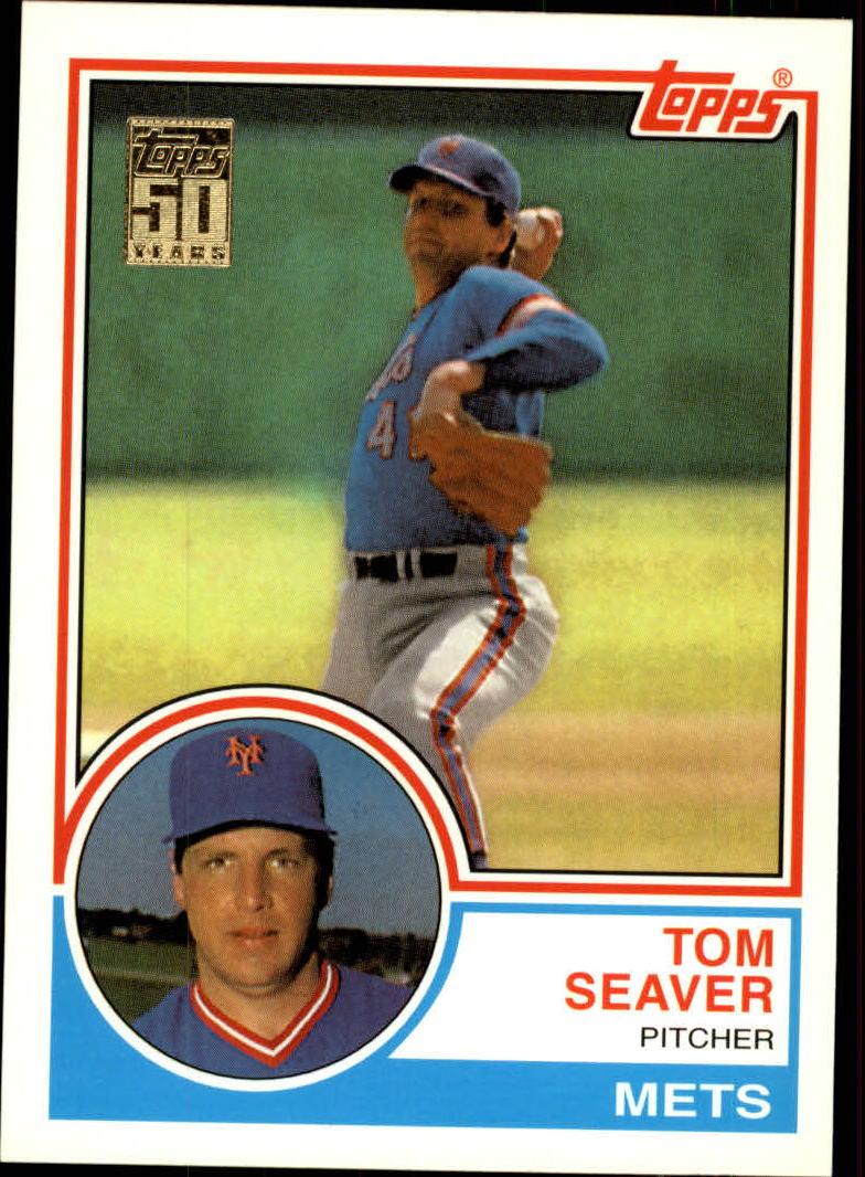 2001 Topps Traded #T107 Tom Seaver 83