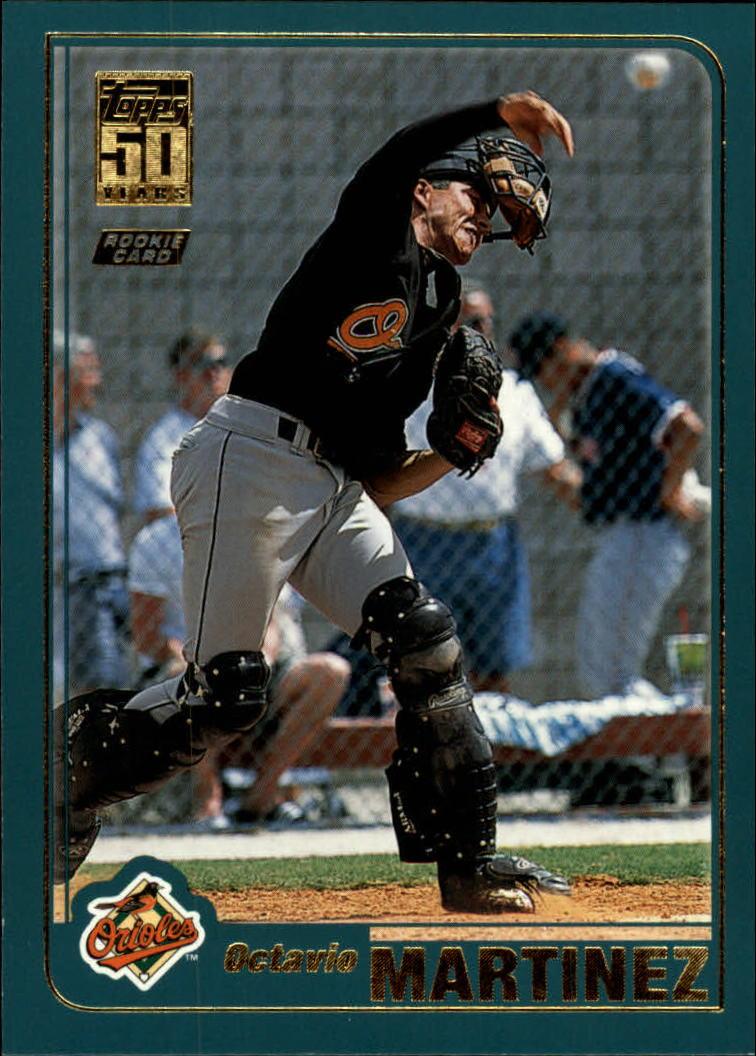2001 Topps Traded #T230 Octavio Martinez RC