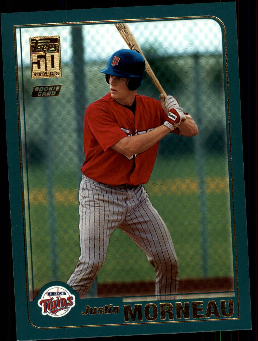 2001 Topps Traded /& Rookies #T235 Justin Morneau Minnesota Twins Rookie Card
