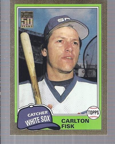 2001 Topps Traded Gold #T100 Carlton Fisk 81